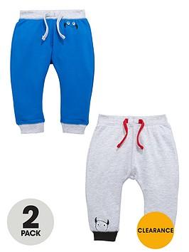 ladybird-baby-boys-loopbacknbspsweat-joggers-2-pack