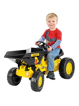 toyrific-pedal-dumper-truck-yellow
