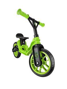 xootz-folding-balance-bike-green