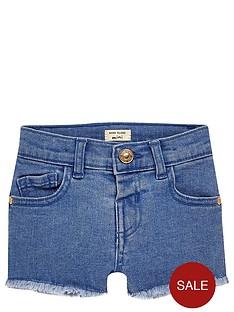 river-island-mini-girls-blue-denim-shorts