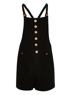river-island-girls-black-denim-dungaree-playsuit