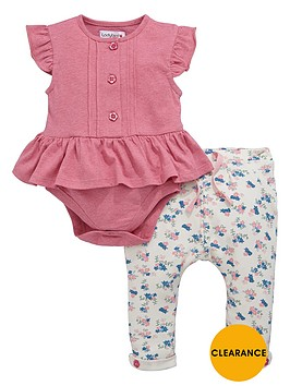ladybird-baby-girls-frill-bodysuit-and-floral-joggers-set