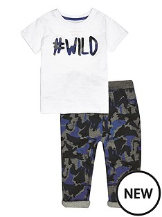 river-island-mini-mini-boys-wild-t-shirt-and-camonbspjoggers-set