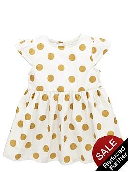 ladybird-baby-girls-metallic-spot-dress