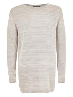 river-island-boys-light-grey-fine-knit-jumper