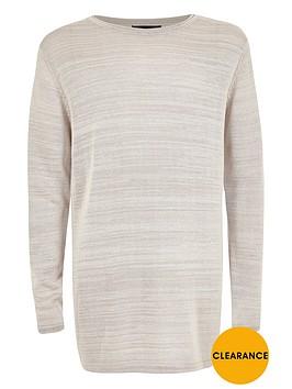river-island-boys-light-grey-fine-knit-jumper