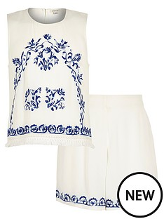 river-island-girls-embroidered-top-and-shorts-set