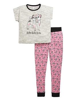 v-by-very-girls-pug-pyjamas-set