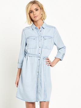 river-island-belted-denim-shirt-dress
