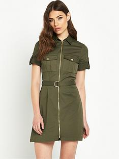 river-island-zip-through-shirt-dress