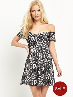 river-island-lace-skater-dress