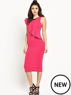 river-island-river-island-ruffle-bodycon-dress