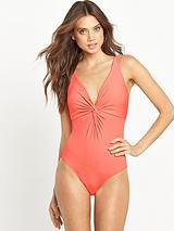 Essentials Twist Swimsuit