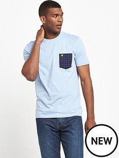 lyle-scott-square-dot-pocket-t-shirt