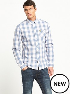 lyle-scott-lyle-amp-scott-long-sleeve-check-shirt