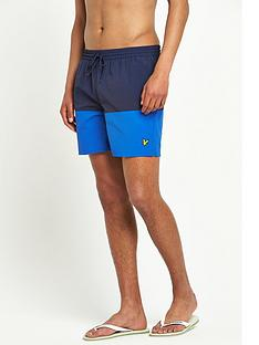lyle-scott-colour-block-swim-shorts