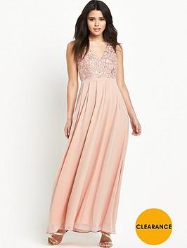 ax-paris-crotchet-front-maxi-dress