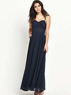 ax-paris-bustier-strappy-maxi-dress