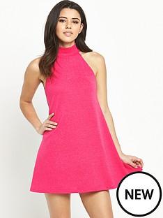 ax-paris-high-neck-sleeveless-dress