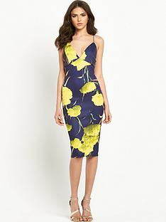 ax-paris-print-bodycon-dress