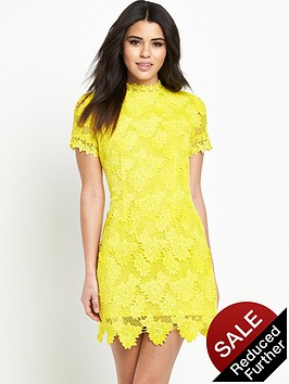 ax-paris-yellow-lace-dress