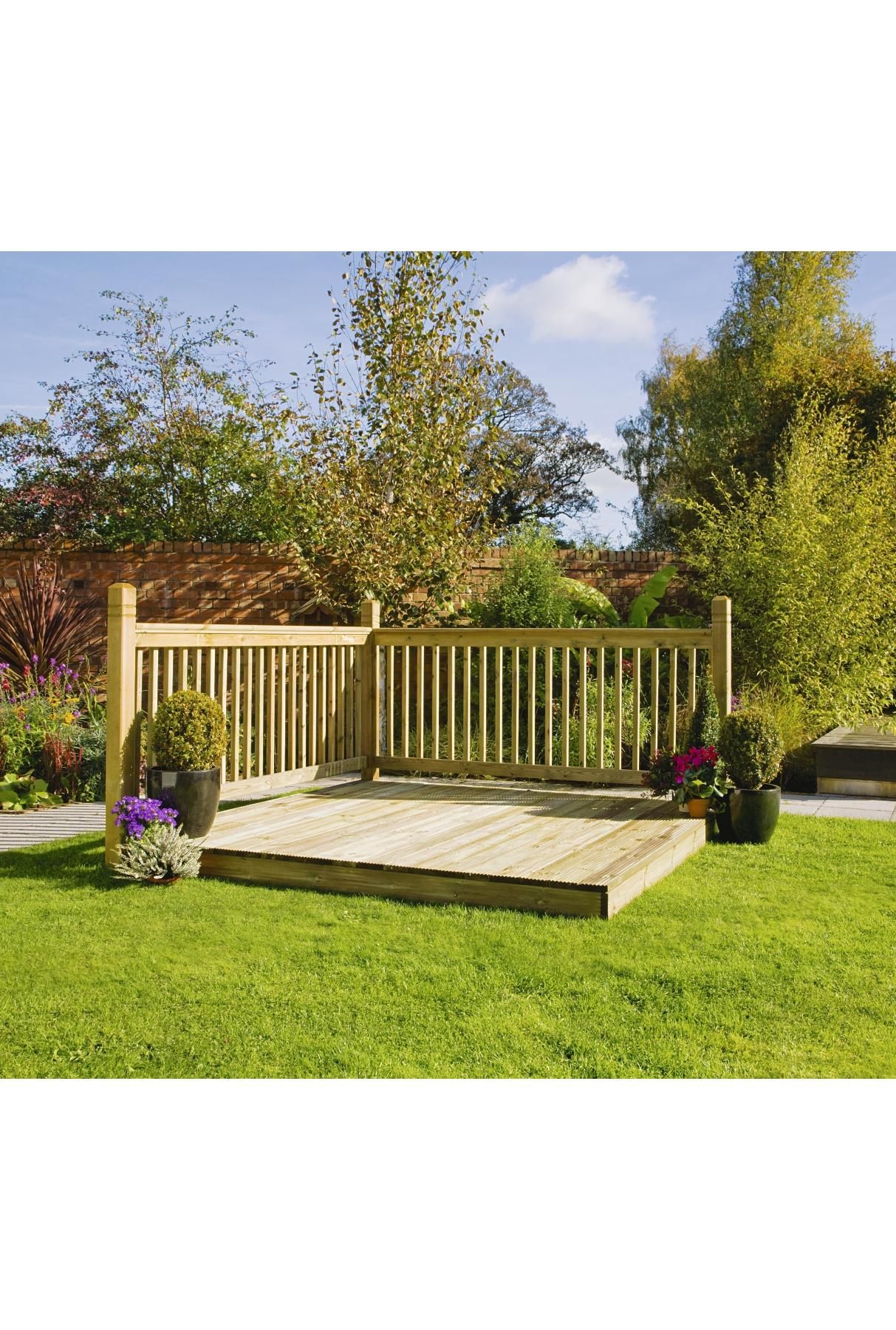 Decking shop for cheap painting decorating and save online for Cheap decking kits sale