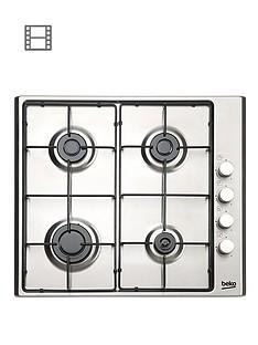 beko-hizg64120sx-built-in-4-burner-fsd-gas-hob-stainless-steel