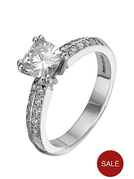 moissanite-18-carat-150pt-white-gold-cushion-cut-engagement-ring