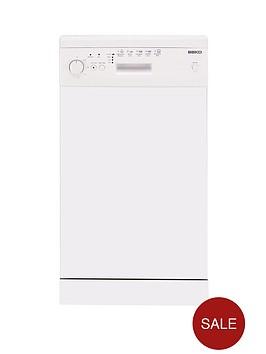 beko-de2542fw-10-place-slimline-dishwasher-white