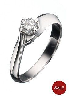 love-diamond-9-carat-white-gold-25-point-diamond-raised-shank-solitaire-ring