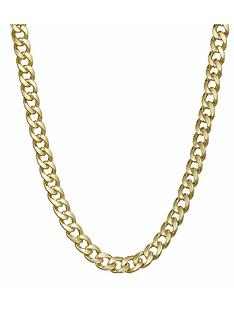 love-gold-9-carat-yellow-gold-appox-13oz-diamond-cut-curb-chain