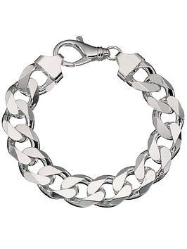 love-silver-sterling-silver-3oz-solid-diamond-cut-curb-bracelet