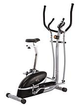 2-in-1 Cycle and Elliptical Cross Trainer