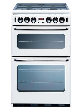 new-world-si550dom-55-cm-double-oven-gas-cooker-white