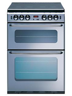new-world-si550dom-55-cm-double-oven-gas-cooker-silver