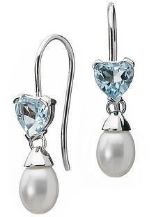 love-gem-9-carat-white-gold-blue-topaz-and-white-freshwater-pearl-earrings