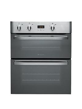 hotpoint-newstyle-uhs53xs-built-under-double-electric-oven-stainless-steel