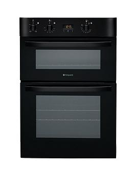 hotpoint-newstyle-dh53ks-built-in-electric-double-oven-black