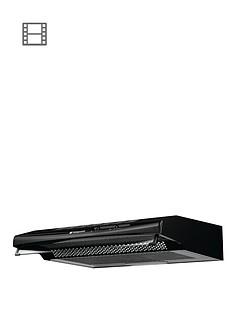 hotpoint-htv10k-60cm-visor-hood-black