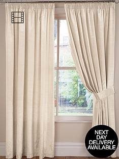faux-silk-lined-pleated-curtains