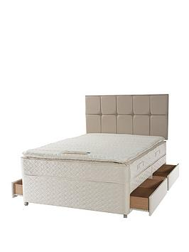 sealy-grand-pillow-top-deluxe-memory-divan