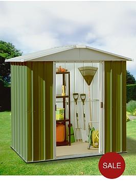yardmaster-61-x-69-ft-apex-metal-roof-shed