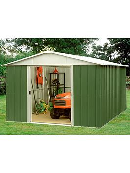 yardmaster-94-x-94-ft-apex-metal-roof-shed