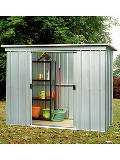 yardmaster-65-x-39ft-double-door-metal-pent-roof-shed