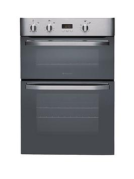 hotpoint-dhs53xs-60cm-built-in-double-electric-oven-stainless-steel