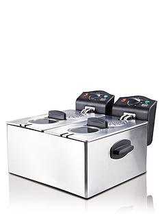 swan-sd6041-double-deep-fryer-stainless-steel