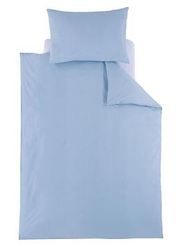 ladybird-plain-toddler-bedding-blue