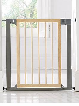 Lindam SureShut Deco Wood Safety Baby Gate