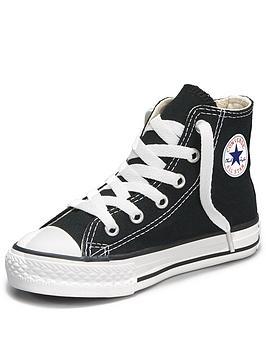 Converse All Star Core HighTop Toddler Infant Plimsolls  Black