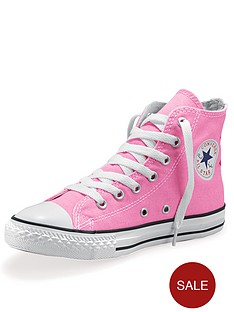 converse-all-star-hi-junior-kids-plimsolls-pink